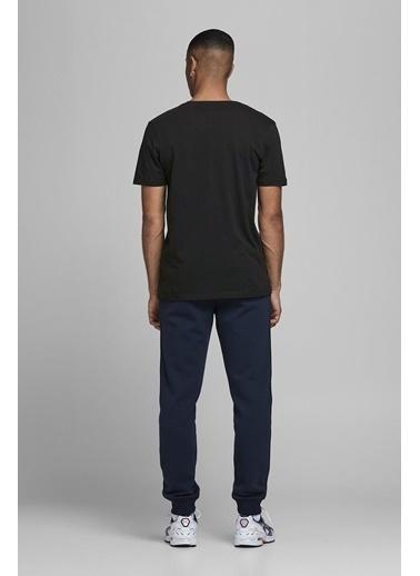 Jack & Jones Jack&Jones Corp Logo Erkek T Shirt 12151955 Siyah